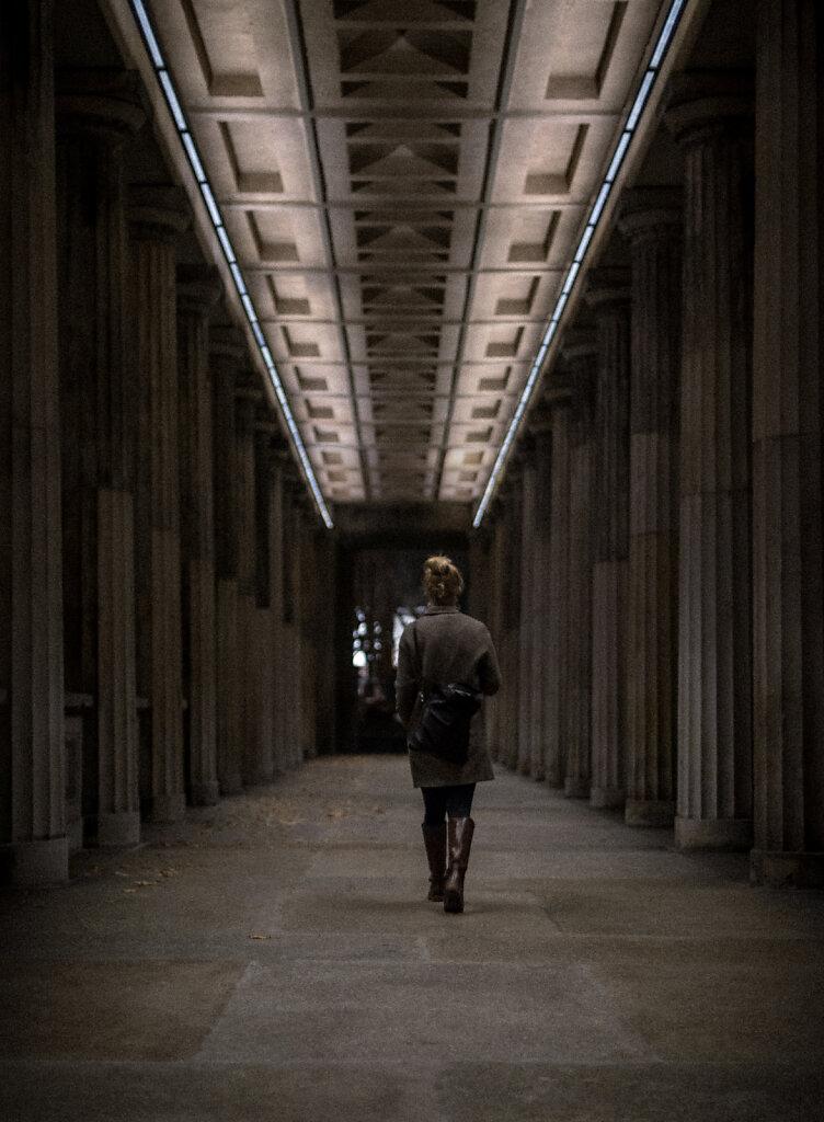 walking of Berlin